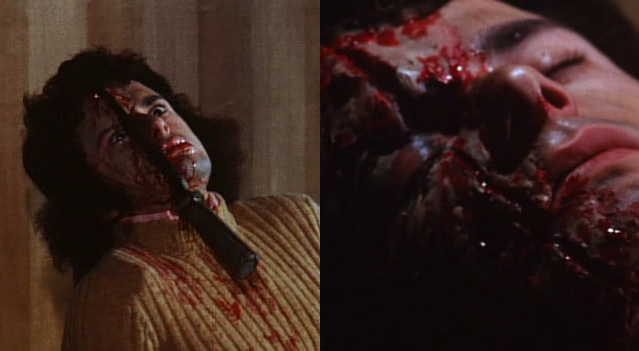 Another murder from the film Blood Bath aka Twitch of the Death Nerve