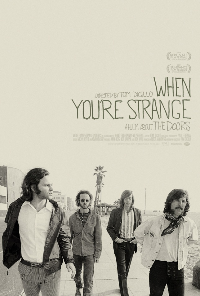 The poster to the documentary When You're Strange