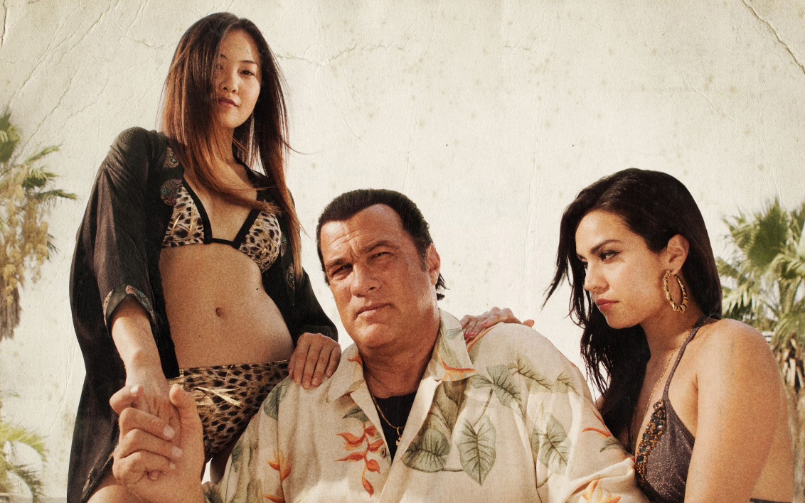Steven Seagal couple